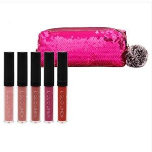 BH Cosmetics Royal Affair Lip Set With Bag, NWT
